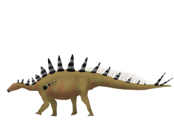 Tuojiangosaurus multispinus by PrimevalRaptor