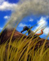 Smug salamander by PrimevalRaptor