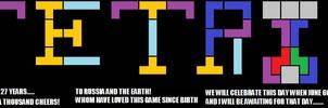 27 Years Of Tetris Poster