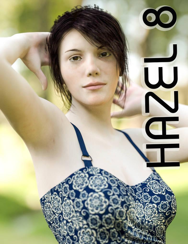 Hazel 8 For Genesis 8 Female in Daz studio by Serum3D on