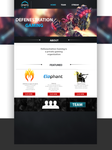 DFNSTN website