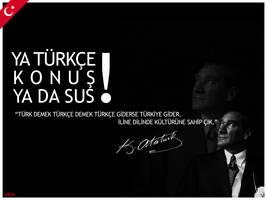Ya Turkce Konus Ya Da SUS by umutsirin