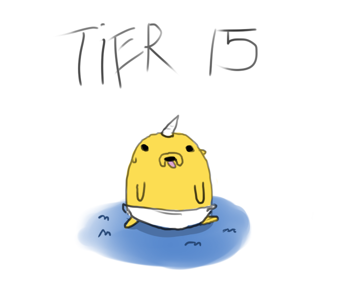 Tier 15 by runaway4home