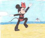 Minnie Mouse in bikini 2