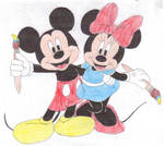 Epic Mickey and Epic Minnie