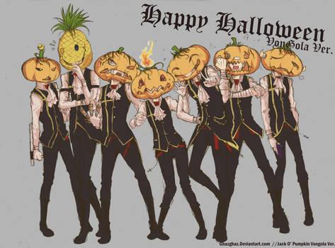 Jack O Pumpkin Vongola Ver