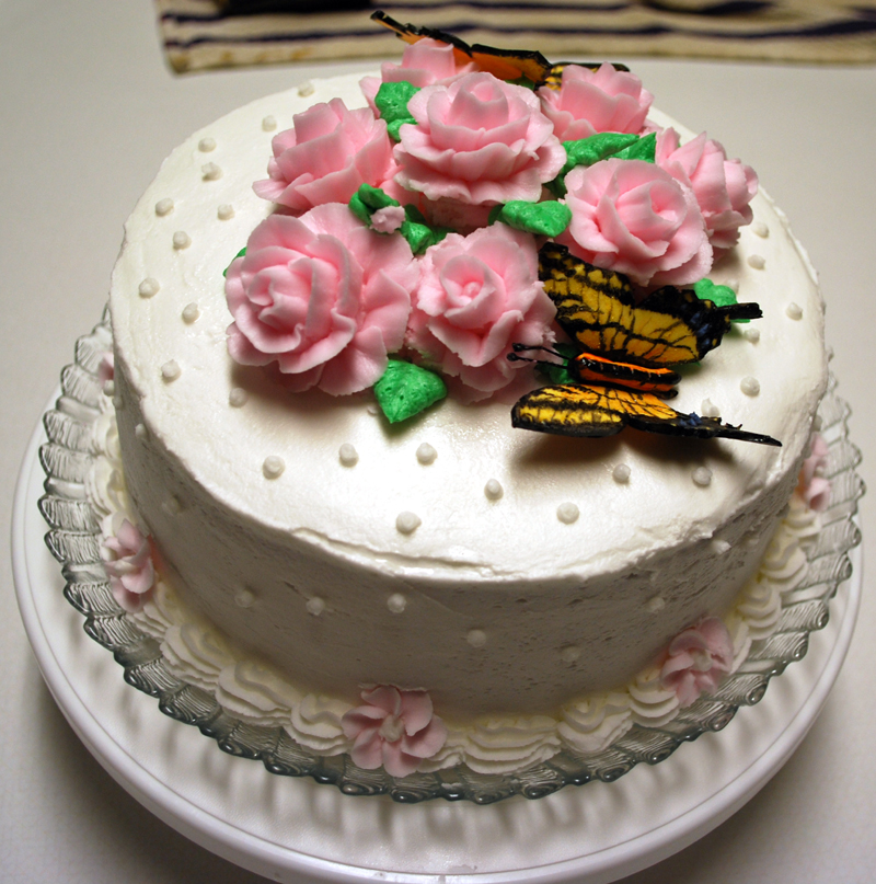 Cake Images Rose : Wilton Rose Cake - 1 by BPHaines on DeviantArt