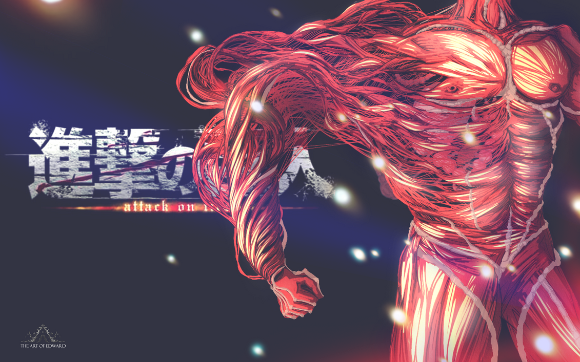 Attack on Titan by synergeticink
