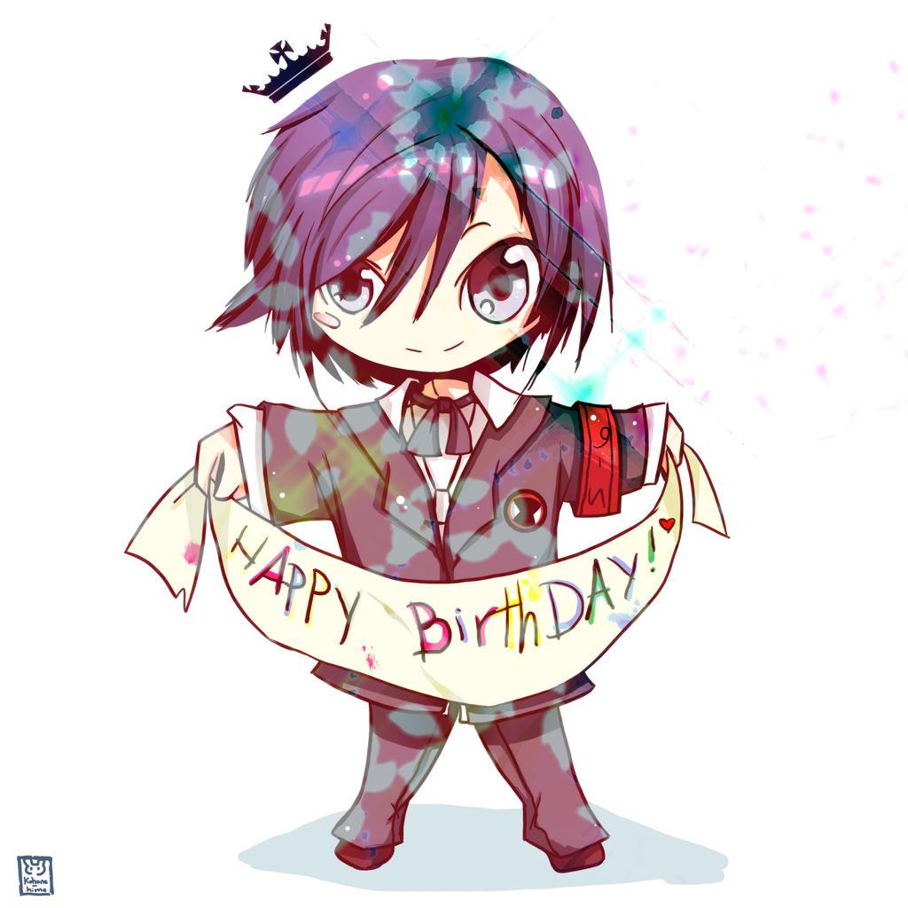Funny Happy Birthday Anime Pics