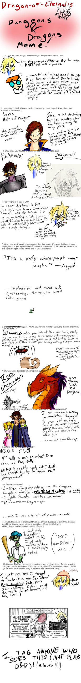 DandD Meme FINALLY FILLED OUT by Dragon-Of-Eternal