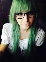 Green hair 2 by CuteStuffLegacy
