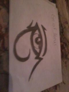 Eye Of Horus by hangel23
