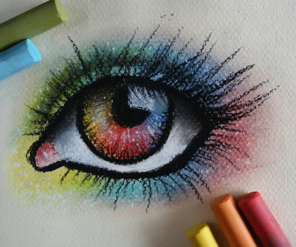 Rainbow Eye by Laurentiusje