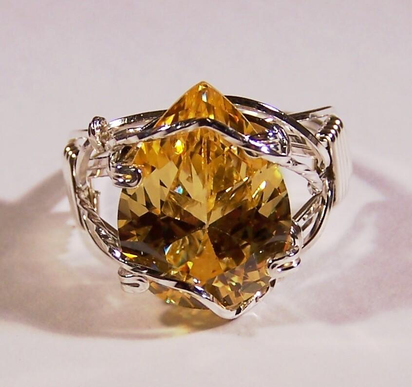 golden topaz ring by craftergod on deviantart