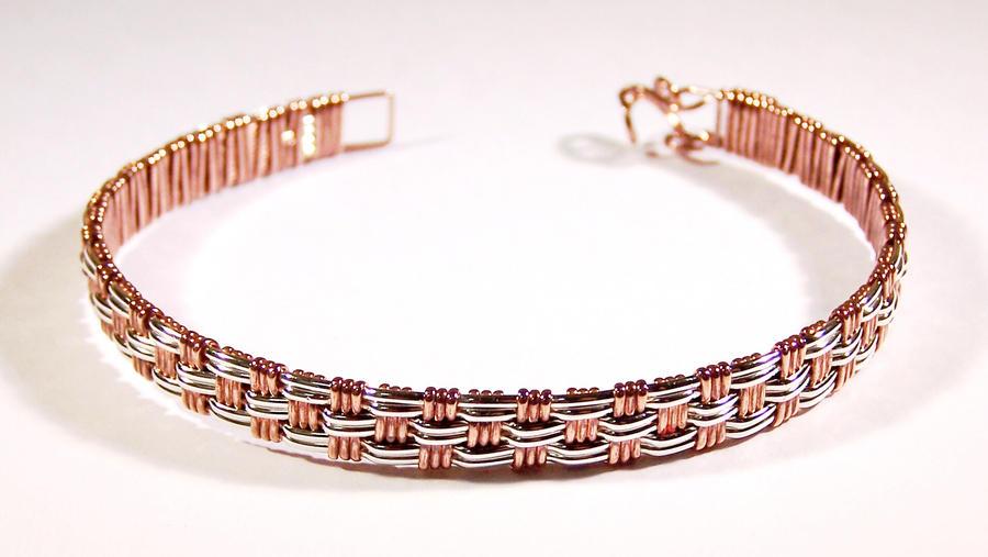 How To Basket Weave Bracelet : Basket weave bracelet by craftergod on deviantart