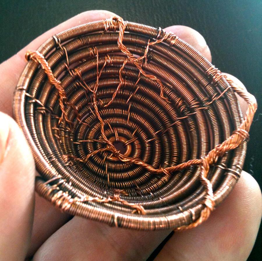 Little Copper Basket Inside by CrafterGod