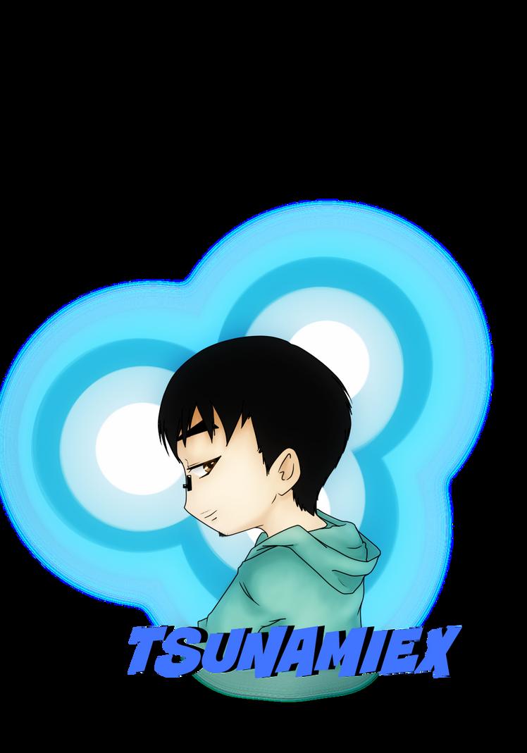 Tsunamiex fanart owo by shonen-ai-lover