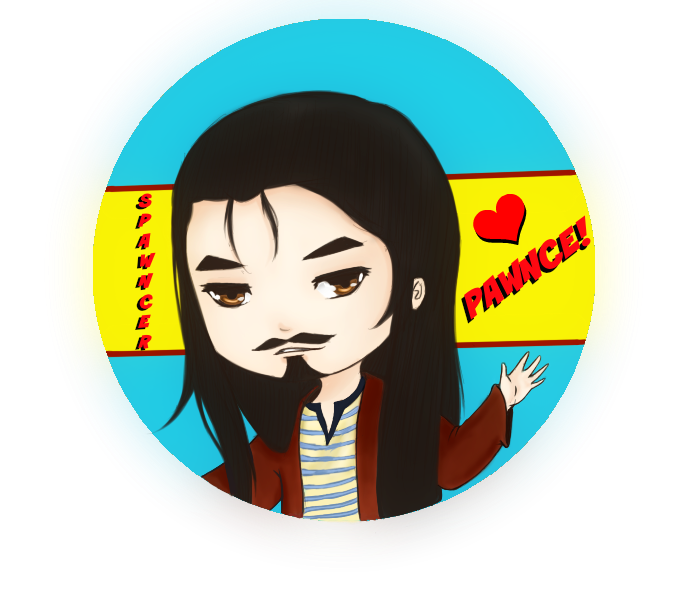 Pawnce Sticker by shonen-ai-lover