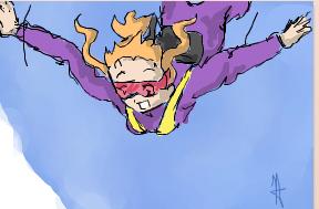 Skydiving by Tweeter72