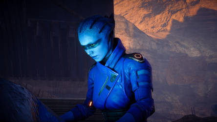 Peebee - Mass Effect Andromeda by NevoX01