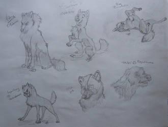 10 Free Sketches Batch 1 by Koeyohte