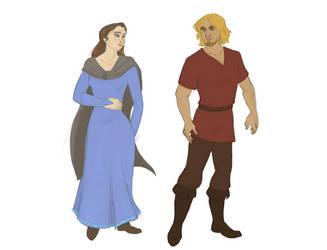 [Thir] - Queen Regnant Catalin + Sir Morfin