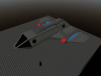 Shuttlecraft Preview by Krahazik