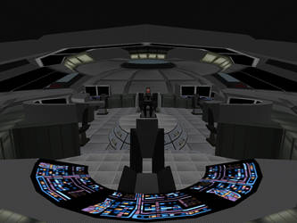 Assault Cruiser Bridge 01 by Krahazik