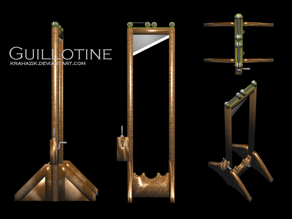Guillotine by Krahazik on DeviantArt
