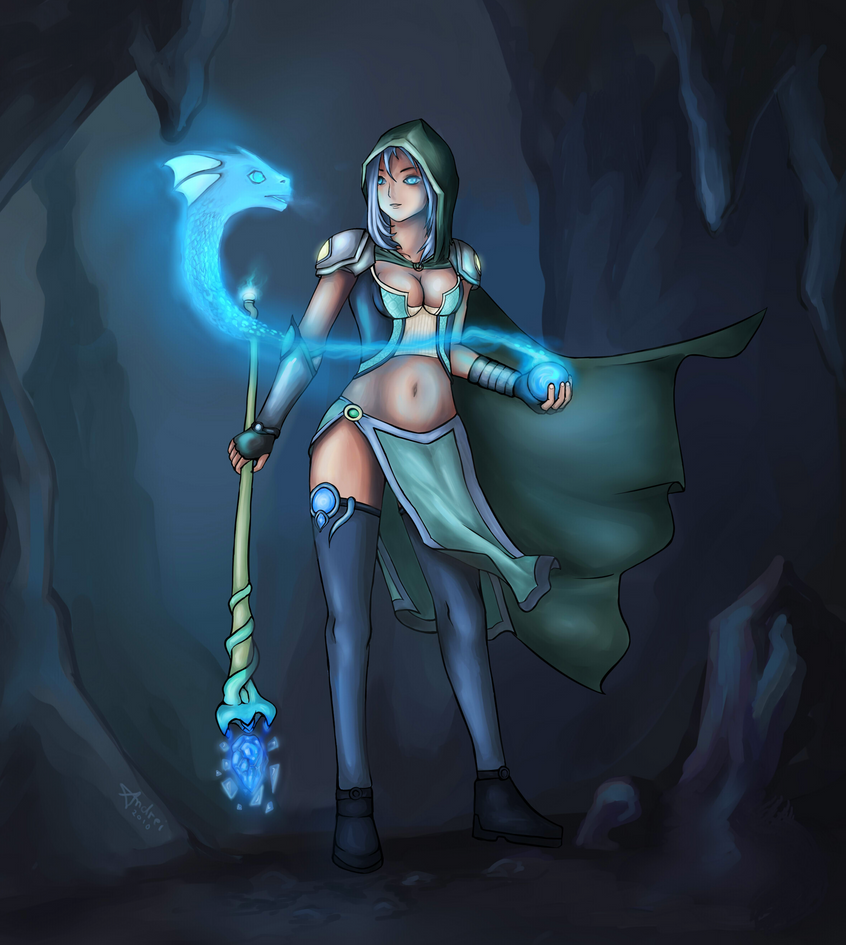 Janina The Sorceress by