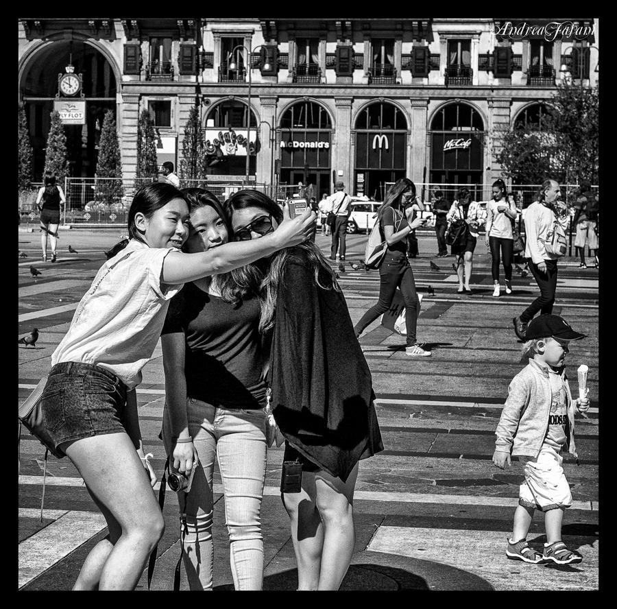 Selfie and Ice Cream ! by Blakk-mamba