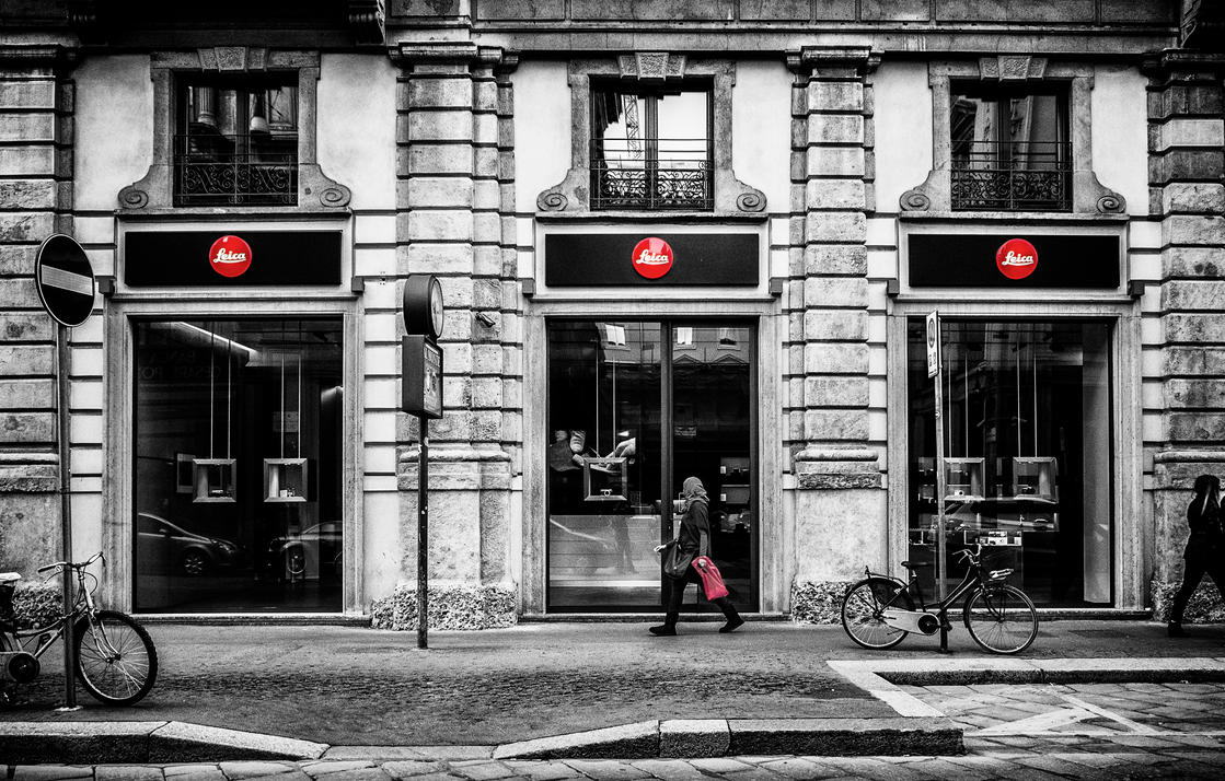 Leica in Milan City by Blakk-mamba