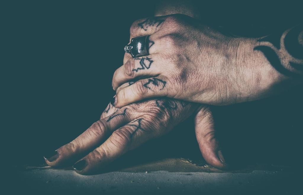 Anarchist hands by Blakk-mamba