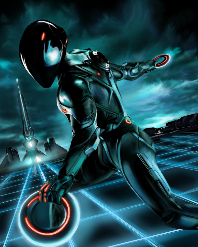 Tron Legacy Corrupted: Rinzler by inbetwixt93.deviantart.com