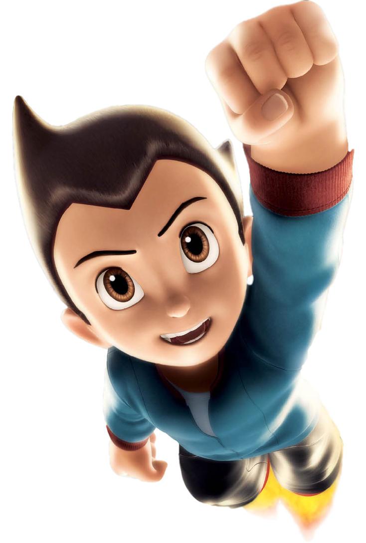 Astro Boy Flying