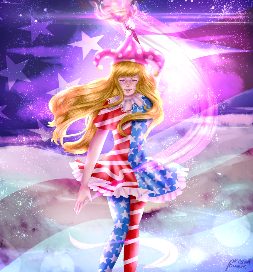 Star-Spangled Spectrum by prismpower