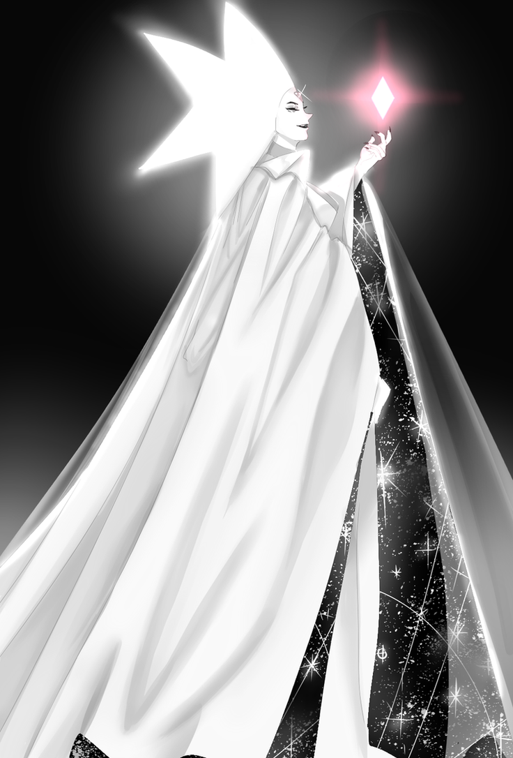 Steven Universe White Diamond Fanart. I love her so much