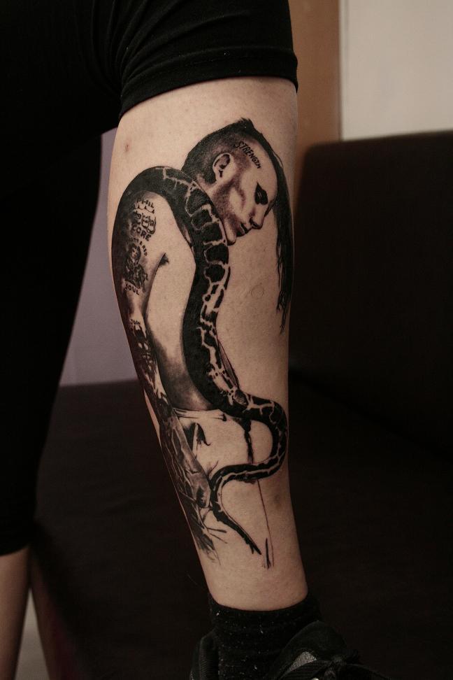 Phil anselmo tattoo by inkstruktor on deviantart for Phil anselmo tattoos