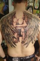 angel tattoo? by Inkstruktor