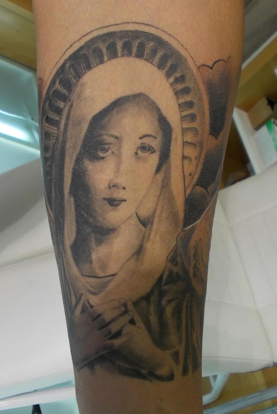 st mary tattoo by inkstruktor on deviantart