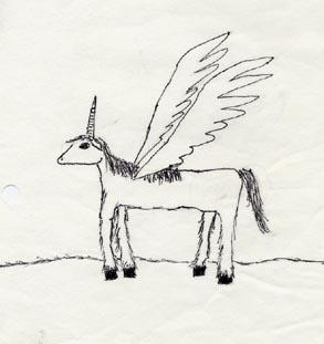 unicorn pegasus thing