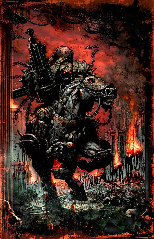 Four Horsemen War War Horseman Of The Ap...