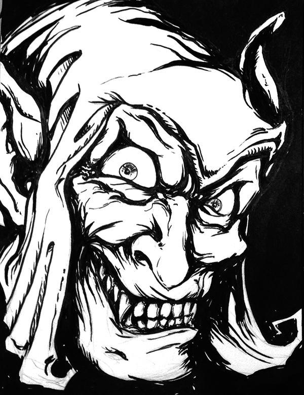 Drawlloween Day3: Goblin by chadf