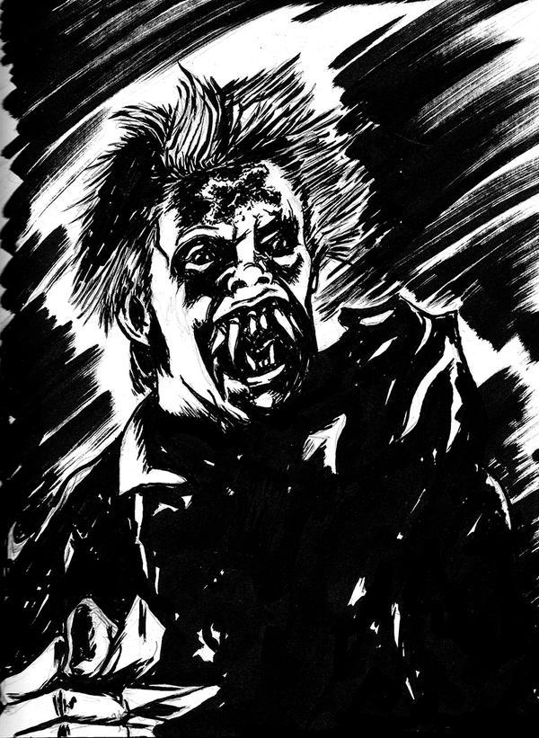 Drawlloween Day 4: Vampire by chadf