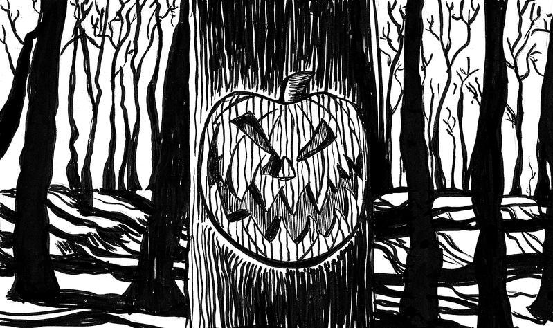 Drawlloween Day 6: Pumpkin by chadf