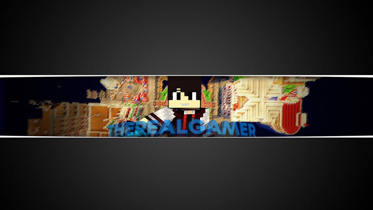 82d434fdb70 The Real Gamer s YouTube Banner by EndersGaming on DeviantArt