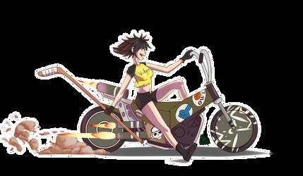 Noodle on a Bike