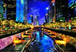 HDR Seoul Creek by fotoshane