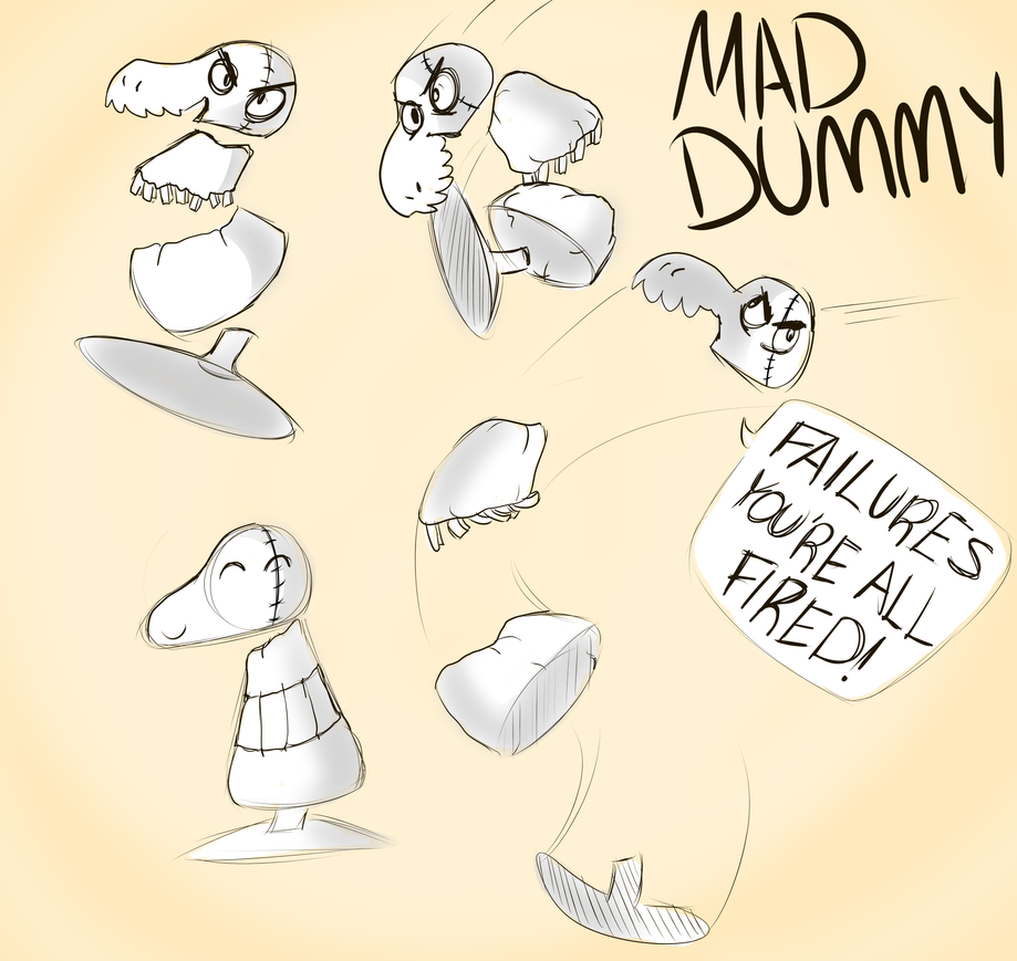 MAD DUMMY by HoveringAbout