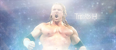 Triple H Design By Me by Hacen13